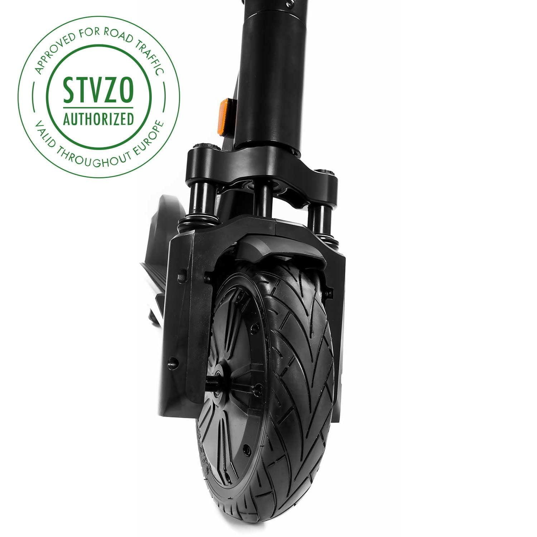 SXT MAX Electric Scooter eKFV (STVZO), 350W, Long Range, Dust-proof and Waterproof Resistant, 120kg Load, Front Wheel