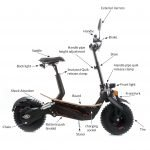 SXT Monster Off Road Electric Scooter Parts