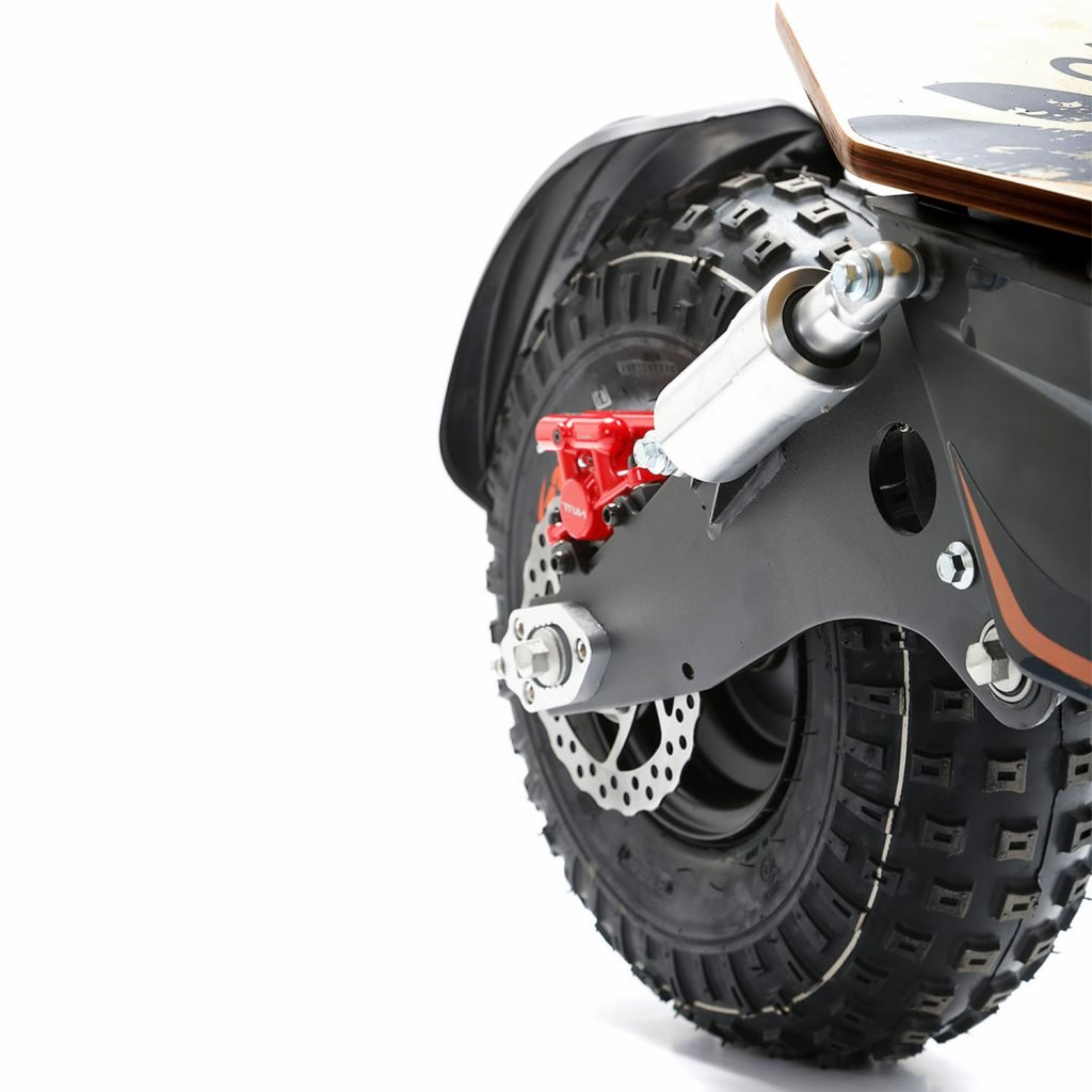 SXT Monster Off road Electric Scooter Back TIre