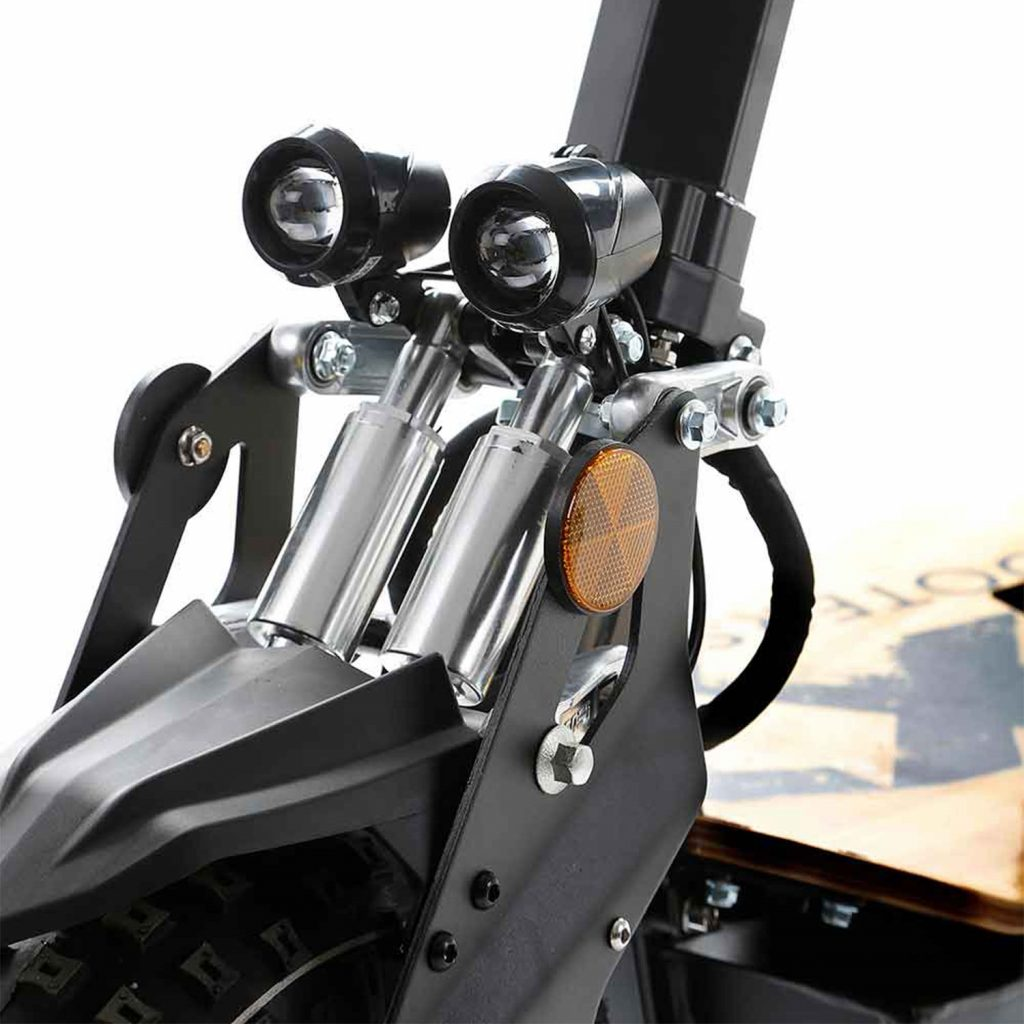 SXT Monster Off road Electric Scooter Front LED Lights