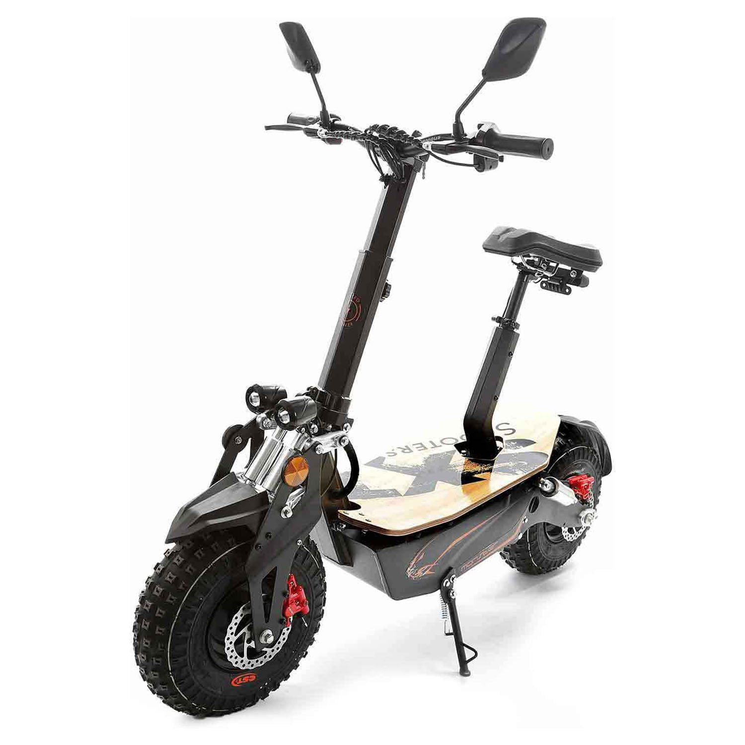 SXT Monster Off road Electric Scooter Side Stand