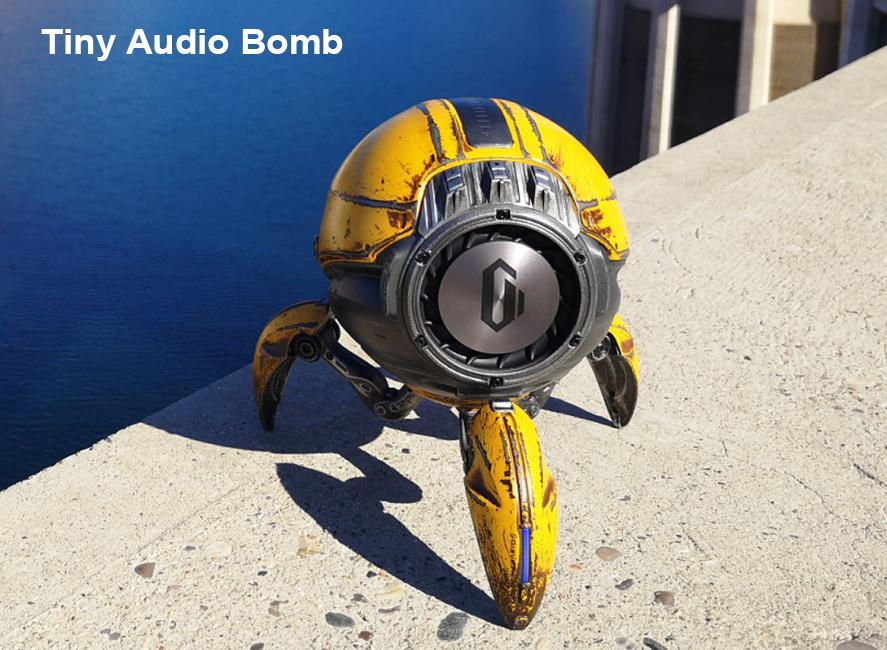 Gravastar G1 Mars Bluetooth Speaker 20W, War Damaged Version - Yellow Audio