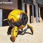 Gravastar G1 Mars Bluetooth Speaker 20W, War Damaged Version - Yellow Long Playtime