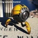 Gravastar G1 Mars Bluetooth Speaker 20W, War Damaged Version - Yellow Volume Control
