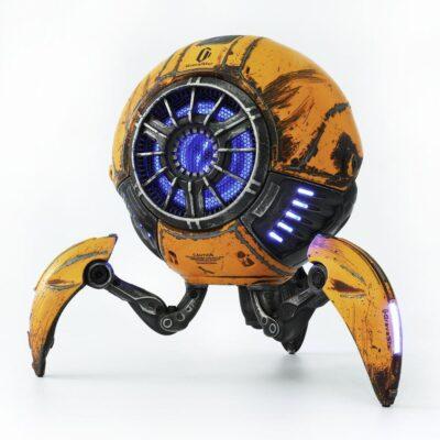 Gravastar G1 Mars Bluetooth Speaker 20W, War Damaged Version - Yellow _1