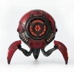 Gravastar G1 Mars Bluetooth Speaker 20W War Damaged Version - Red Front lights