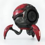 Gravastar G1 Mars Bluetooth Speaker 20W War Damaged Version - Red back bass