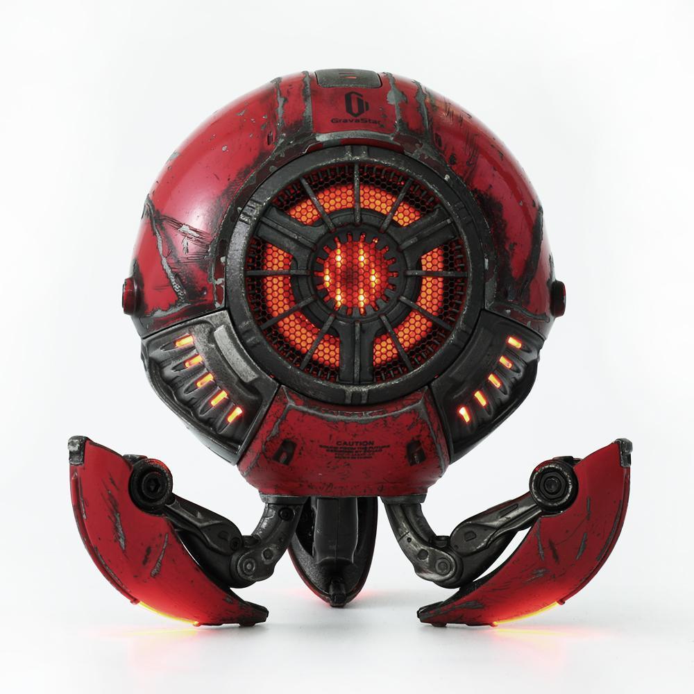 Gravastar G1 Mars Bluetooth Speaker 20W War Damaged Version - Red legs