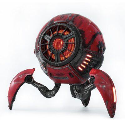 Gravastar G1 Mars Bluetooth Speaker 20W War Damaged Version - Red mighty