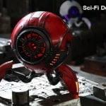 Gravastar G1 Mars Bluetooth Speaker 20W War Damaged Version - Red sci fi