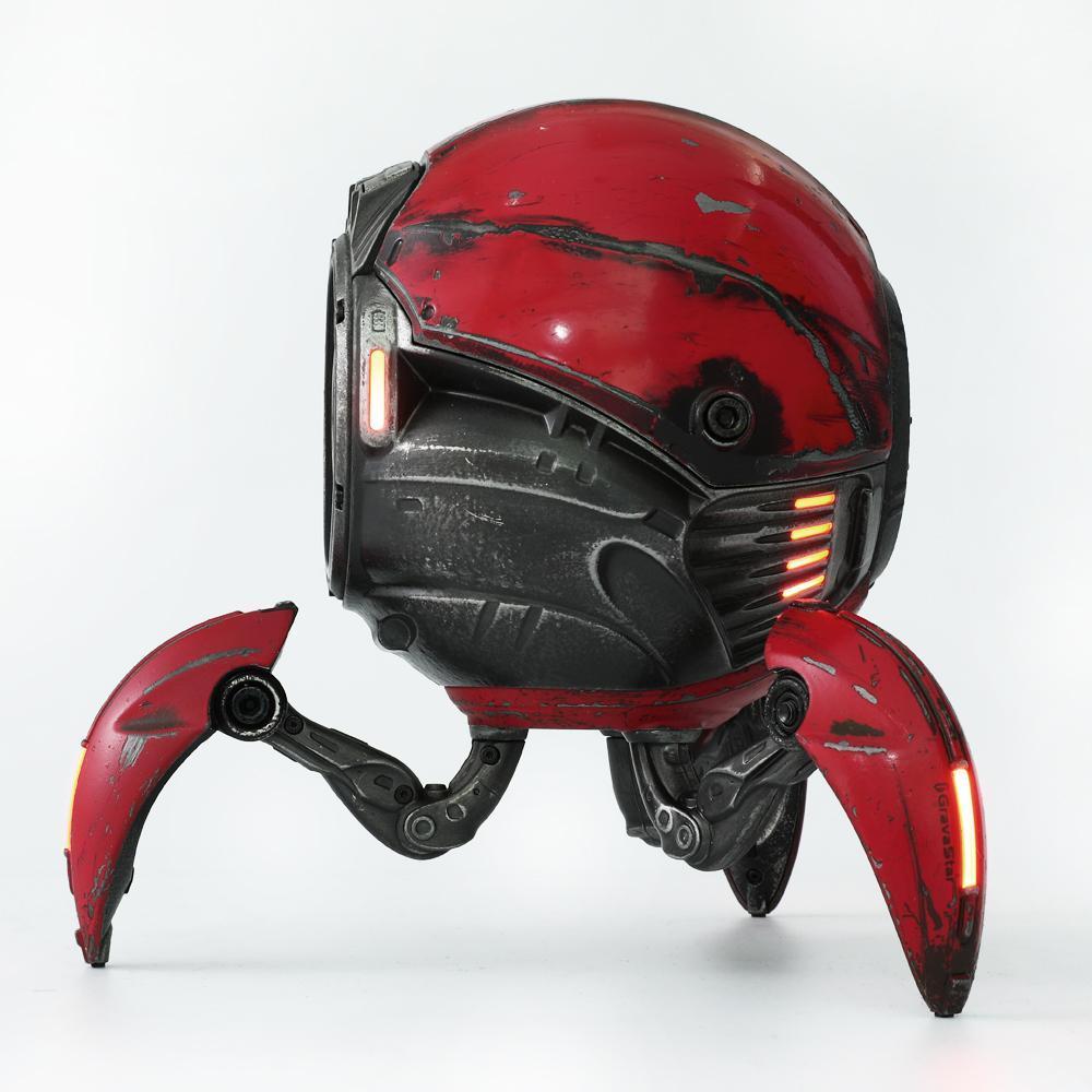 Gravastar G1 Mars Bluetooth Speaker 20W War Damaged Version - Red side