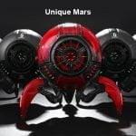 Gravastar G1 Mars Bluetooth Speaker 20W War Damaged Version - Red unique