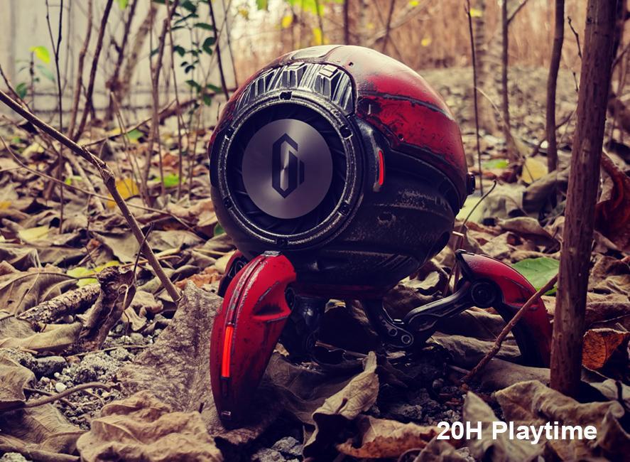 Gravastar G1 Mars Bluetooth Speaker 20W War Damaged Version - Redforrest