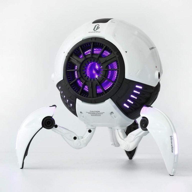 Gravastar G1 Mars Bluetooth Speaker 20W - White Front Side