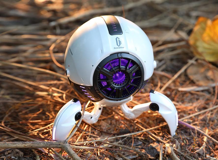 Gravastar G1 Mars Bluetooth Speaker 20W - White Outside