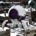 Gravastar G1 Mars Bluetooth Speaker 20W - White Touching Volume Control